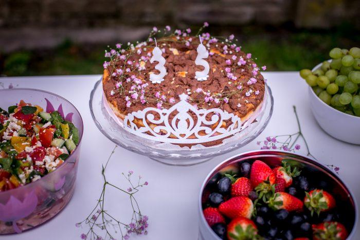 Narozeninový dort podle časopisu