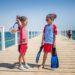 plavky pro děti s OF50+ | Snadná ochrana (nejen) po neštofkách